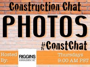 #ConstChat Managing Photoa